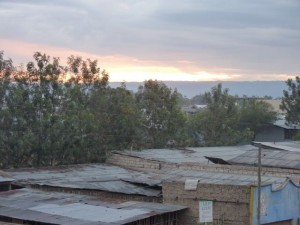 Sunrise in Awassa, Ethiopia